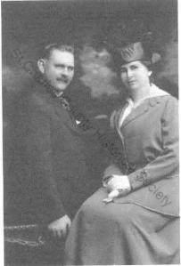 Sheriff John Dierker and wife