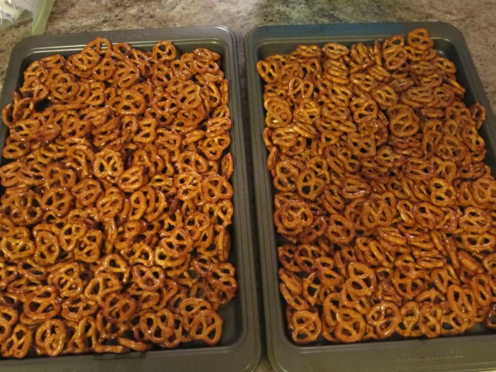 Pretzels Ready for the Oven