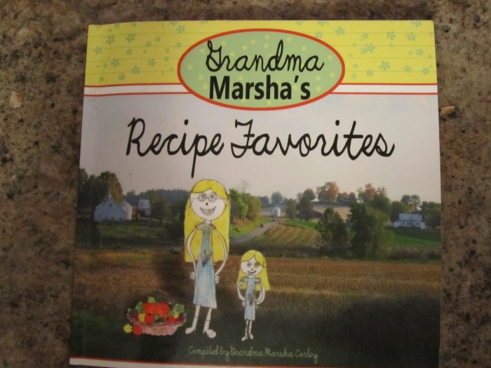 Grandma Marsha's Recipe Favorites Cookbook