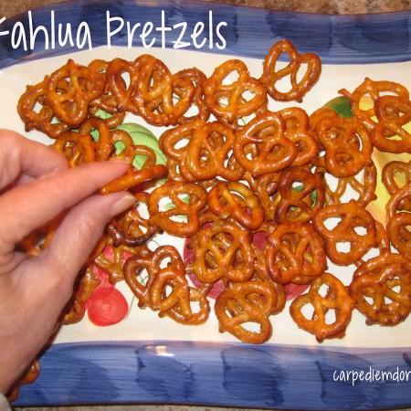 Digging into the Kahlua Pretzels