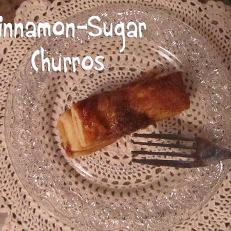 Cinnamon Sugar Churro