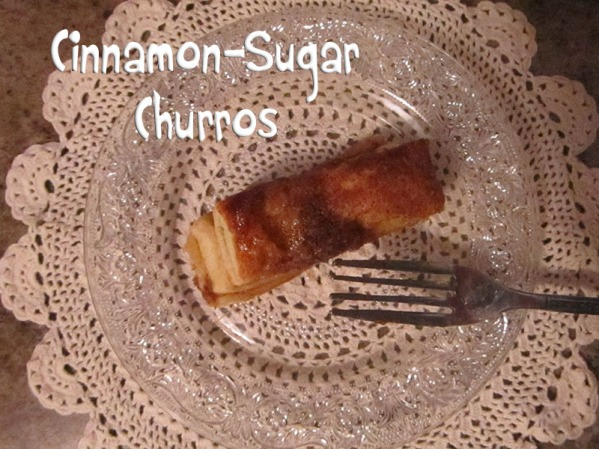 Cinnamon Sugar Churro