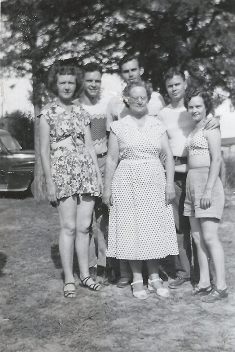 Shoults Family circa 1955