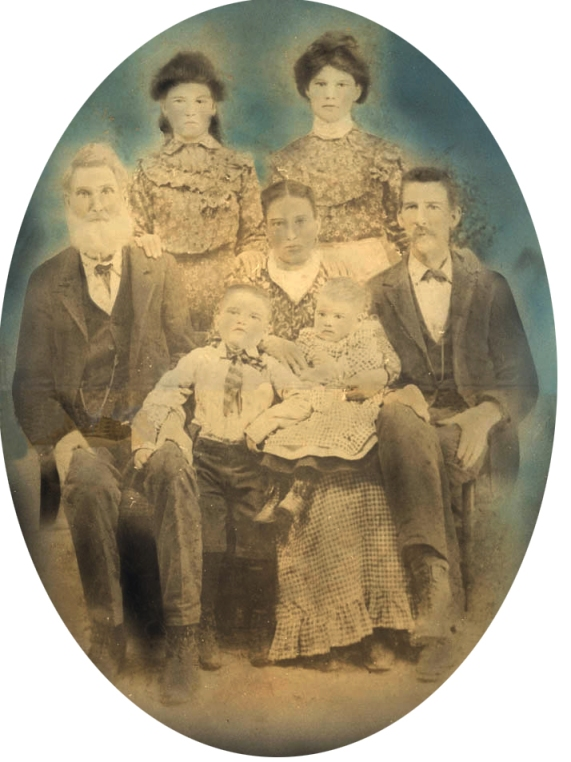 Shoults Family circa 1902