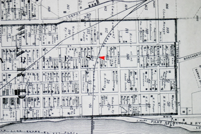 1905 St. Charles City Map