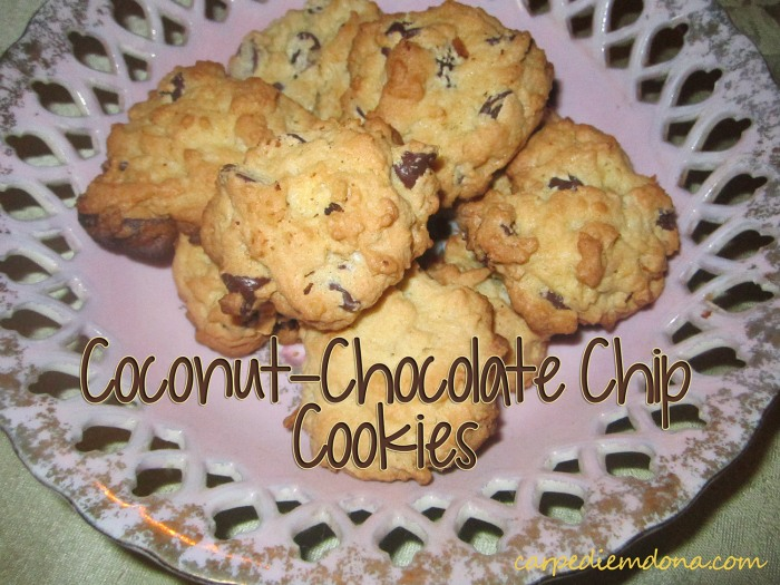 Coconut-Chocolate Chip Cookies