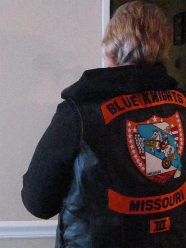 My New Blue Knights Vest