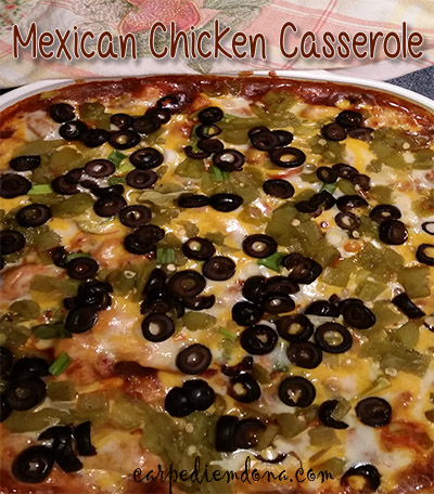 Photo of Mexican Chicken Casserole