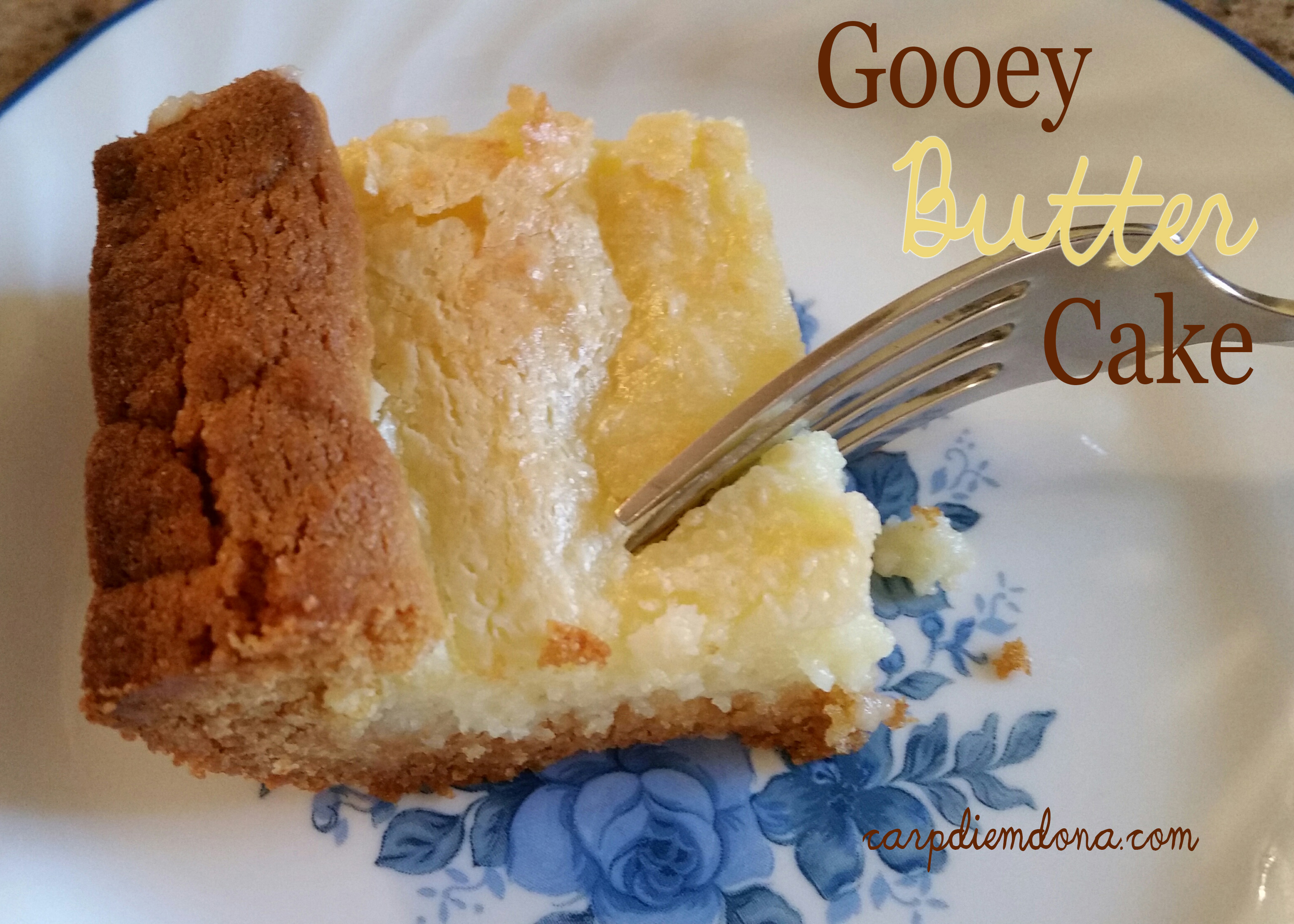 Gooey Butter Cake–A St. Louis Favorite
