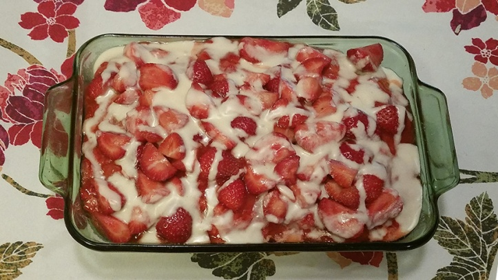 Strawberry Poke Shortcake