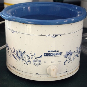 crock pot vintage small