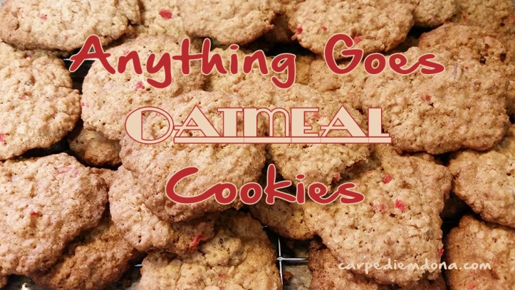 Anything Goes Oatmeal Cookies