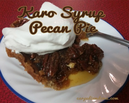 Karo Syrup Pecan Pie