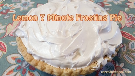 lemon 7 minute frosting pie