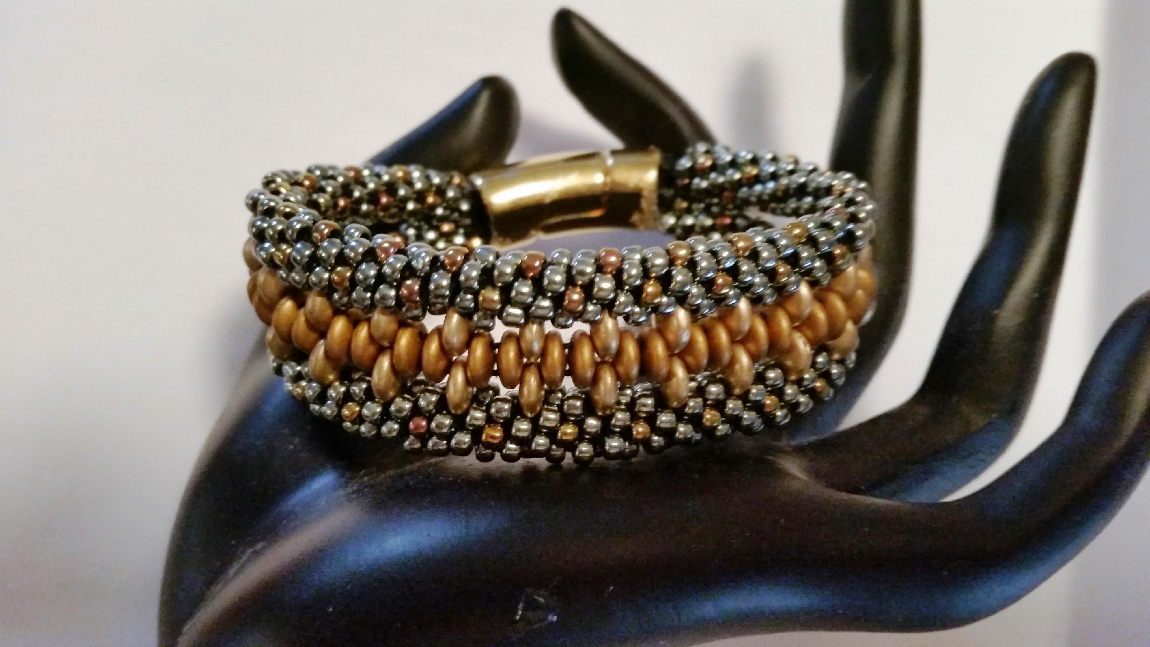 Kumihimo Cuff Bracelet