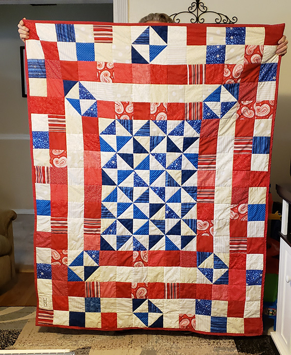 red white blue 8x10