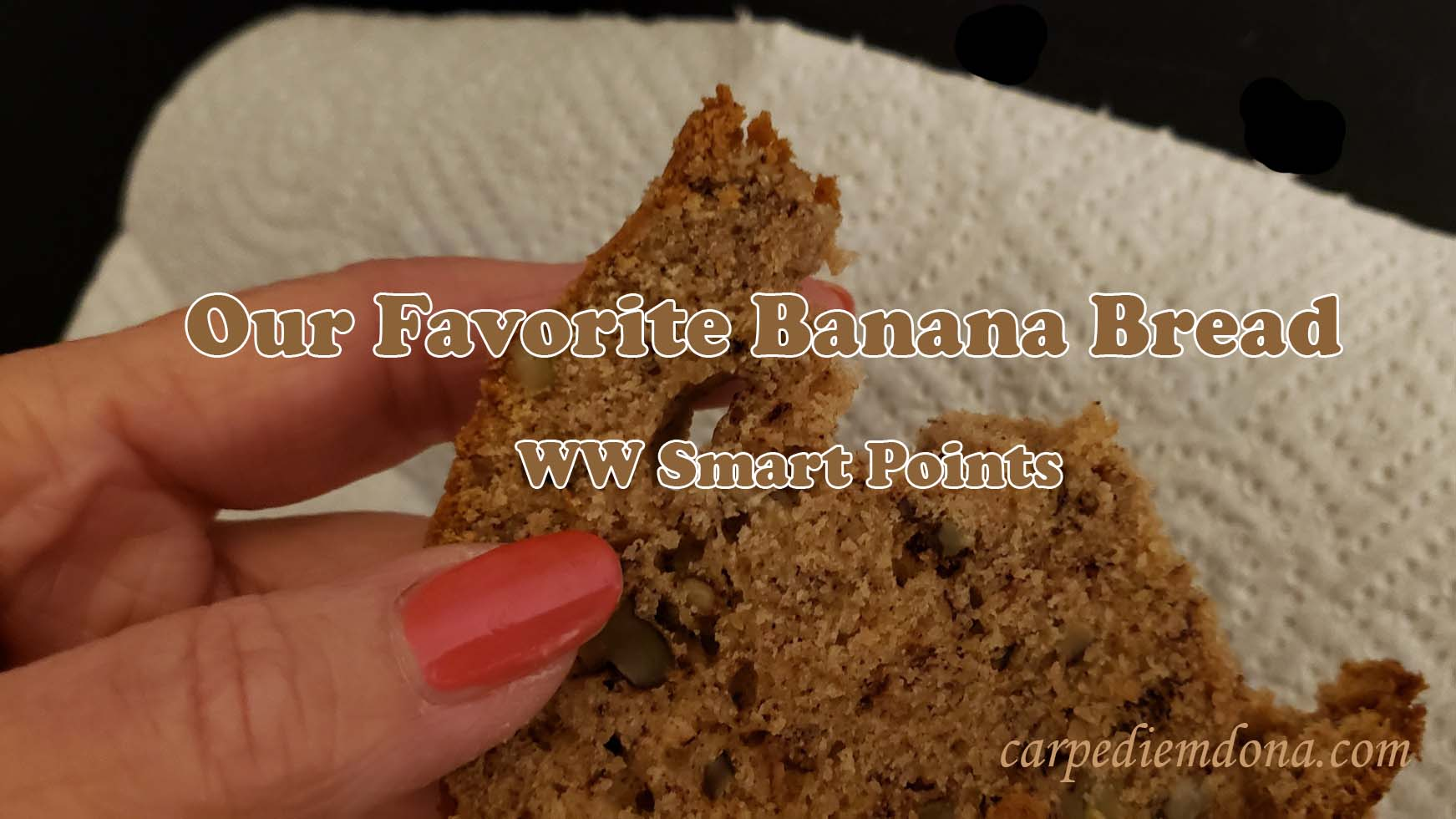 Our Favorite Banana Bread–WW Smart Points