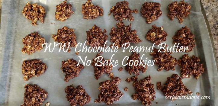ww choc peanut bttr no bake