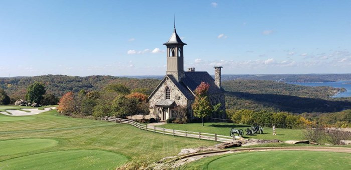 Church at Top of the Rock Branson Missouri