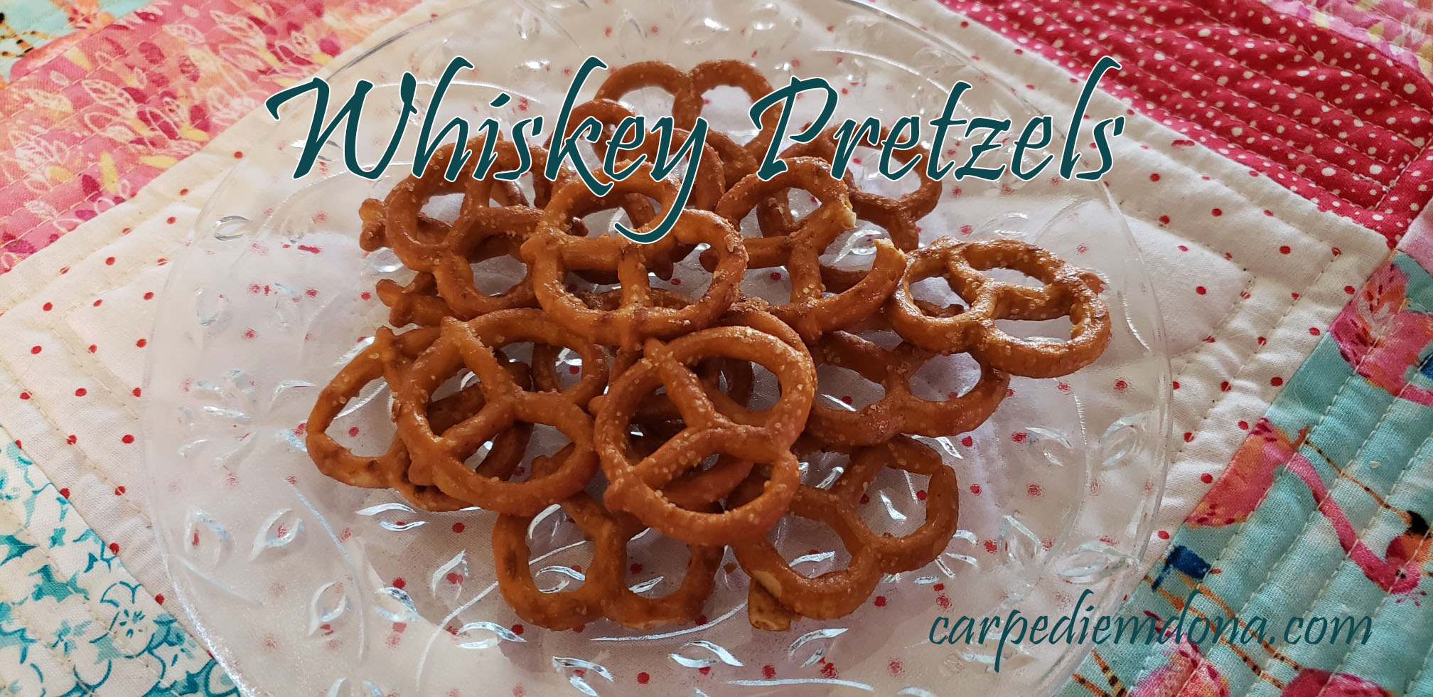WW Friendly Whiskey Pretzels