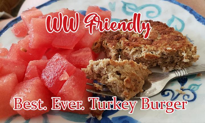 WW Friendly Best.Ever.Turkey Burgers